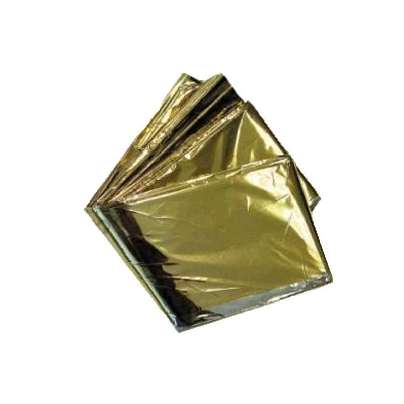 manta térmica oro plata