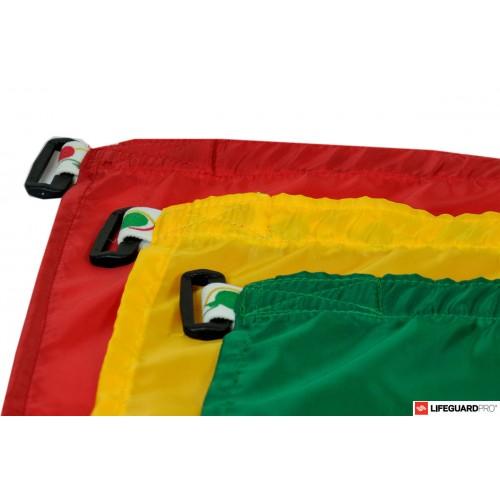 juego de banderas playa